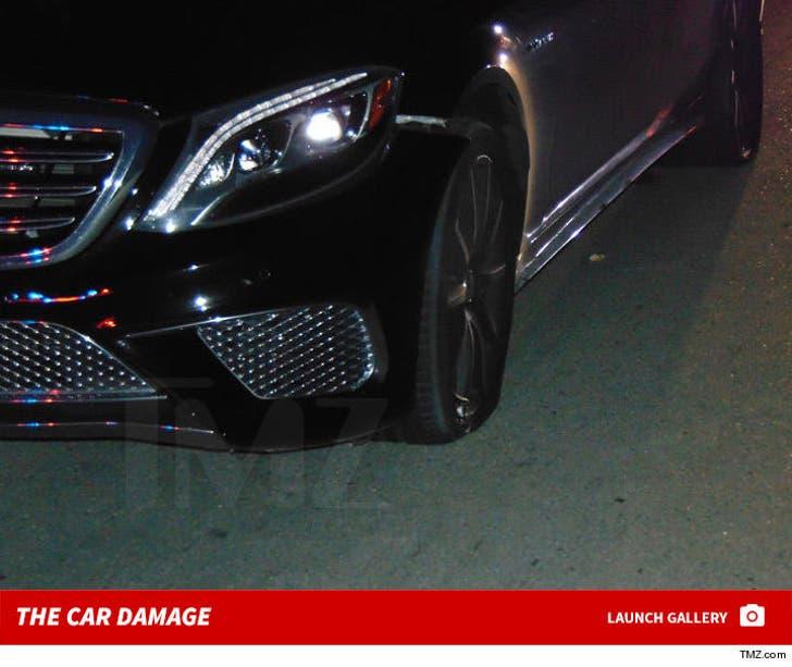 Tiger Woods Police Arrest Photos Show Car Damage