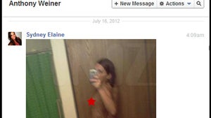Anthony Weiner's Sexting Partner Sydney Elaine Leathers -- Thonged Out For His Pleasure [Pictures]