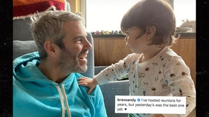 Andy Cohen Reunites with Son After Coronavirus Recovery