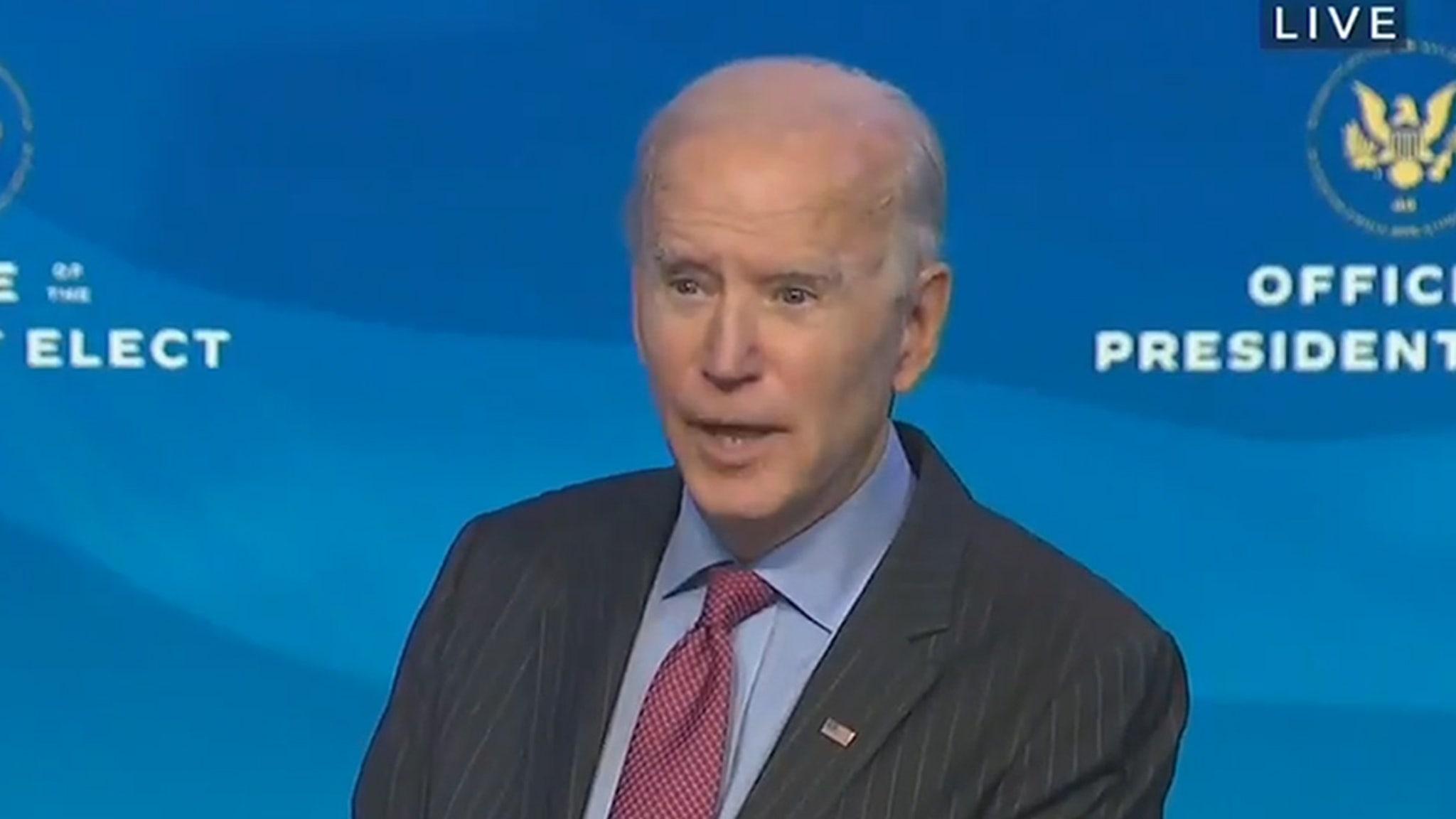 President Trump Won't Attend Joe Biden's Inauguration, Biden Says 'Good'