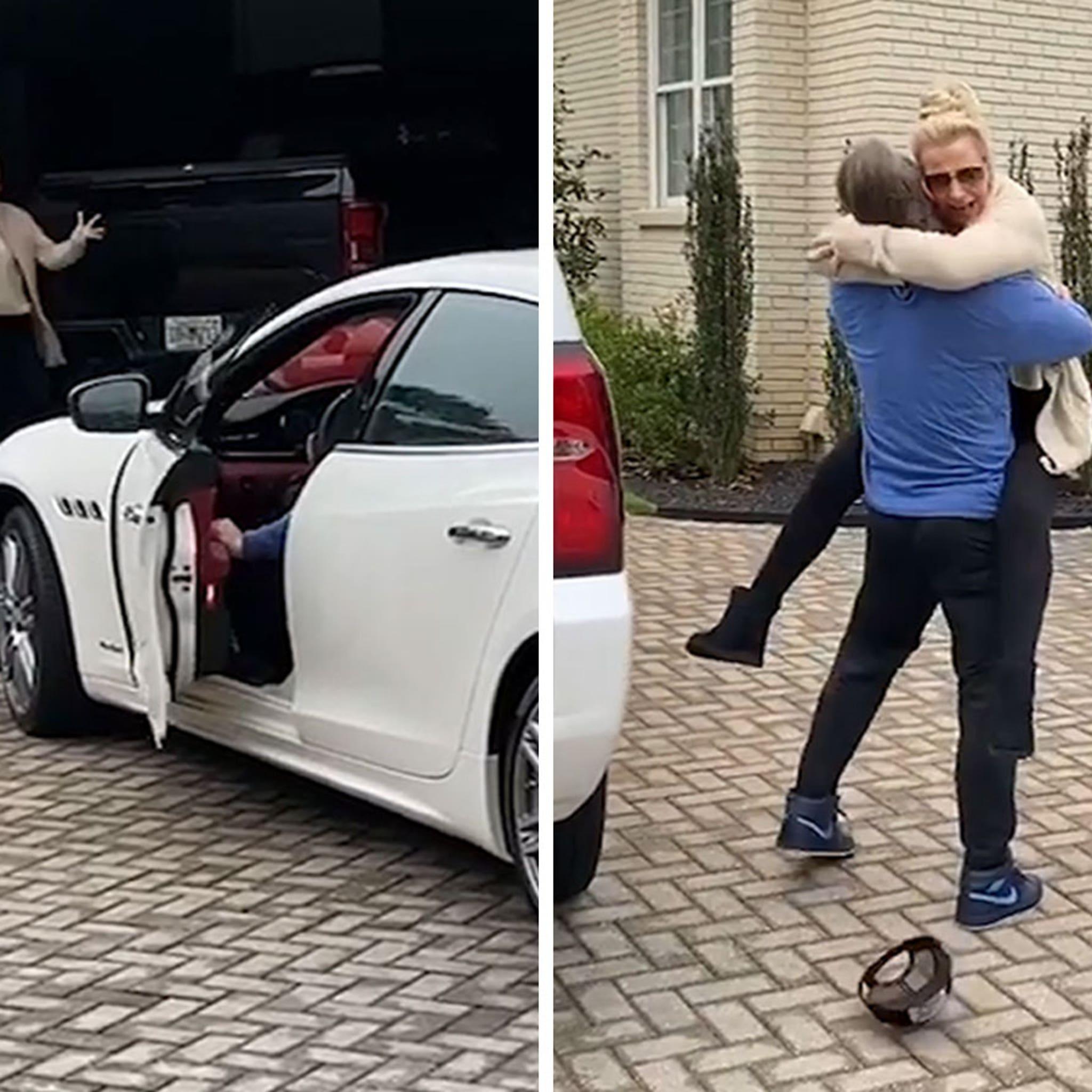 MLB's Josh Donaldson Buys Mom $70,000 Maserati For Quitting Smoking