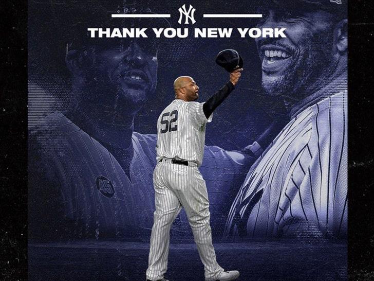 CC Sabathia Writes Emotional Goodbye Letter To Yankees, 'Love You Guys!'