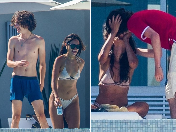 Timothee Chalamet Makes Out With GF Eiza Gonzalez
