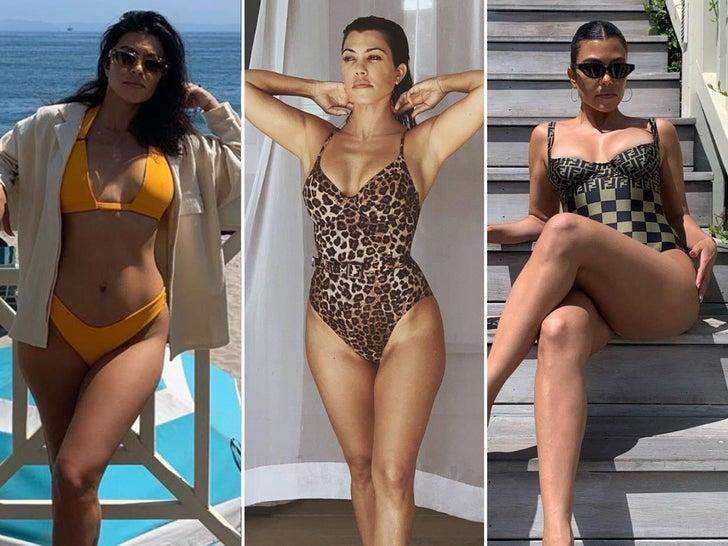 Kourtney Kardashian's Hottest Shots Of 2020