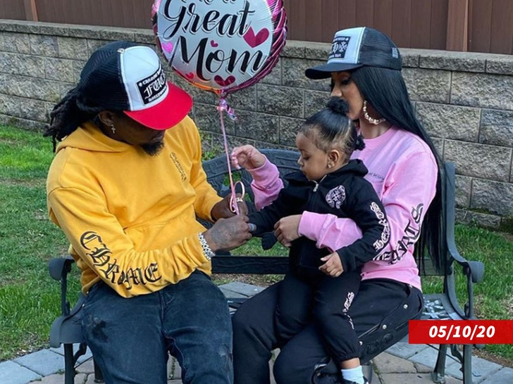 Cardi B and Offset -- Family Photos