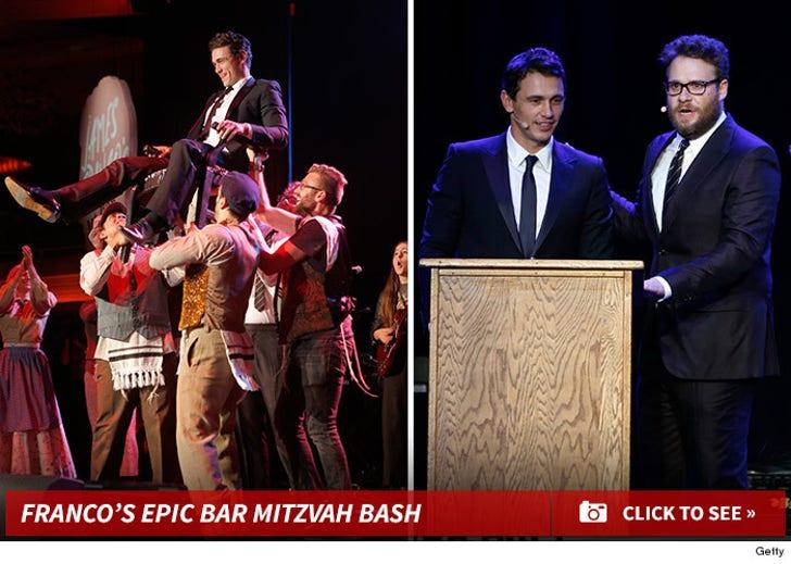 James Franco's Bar Mitzvah Bash