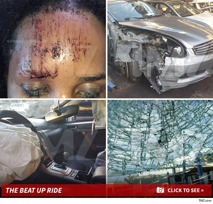 The Beat Up Ride - Bello Sanchez's Scary Car Wreck