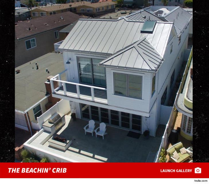 Tarek El Moussa's Newport Rental -- Beachin'!