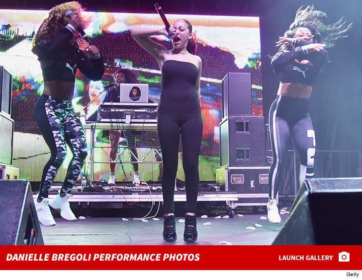 Danielle Bregoli Performance Photos