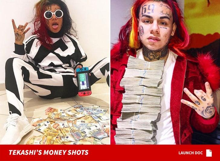 Tekashi69 shots of money
