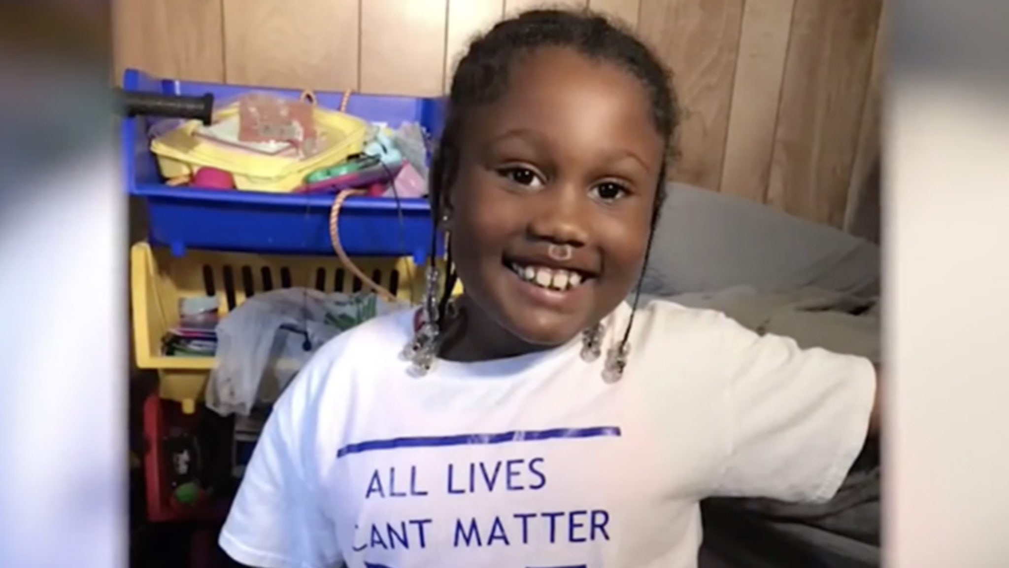 Black Lives Matter 6-Year-Old Kicked Out of School ... Over BLM Shirt