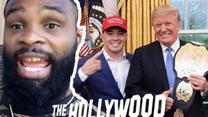UFC's Tyron Woodley on Trump, 'I Don't Think He's Racist'