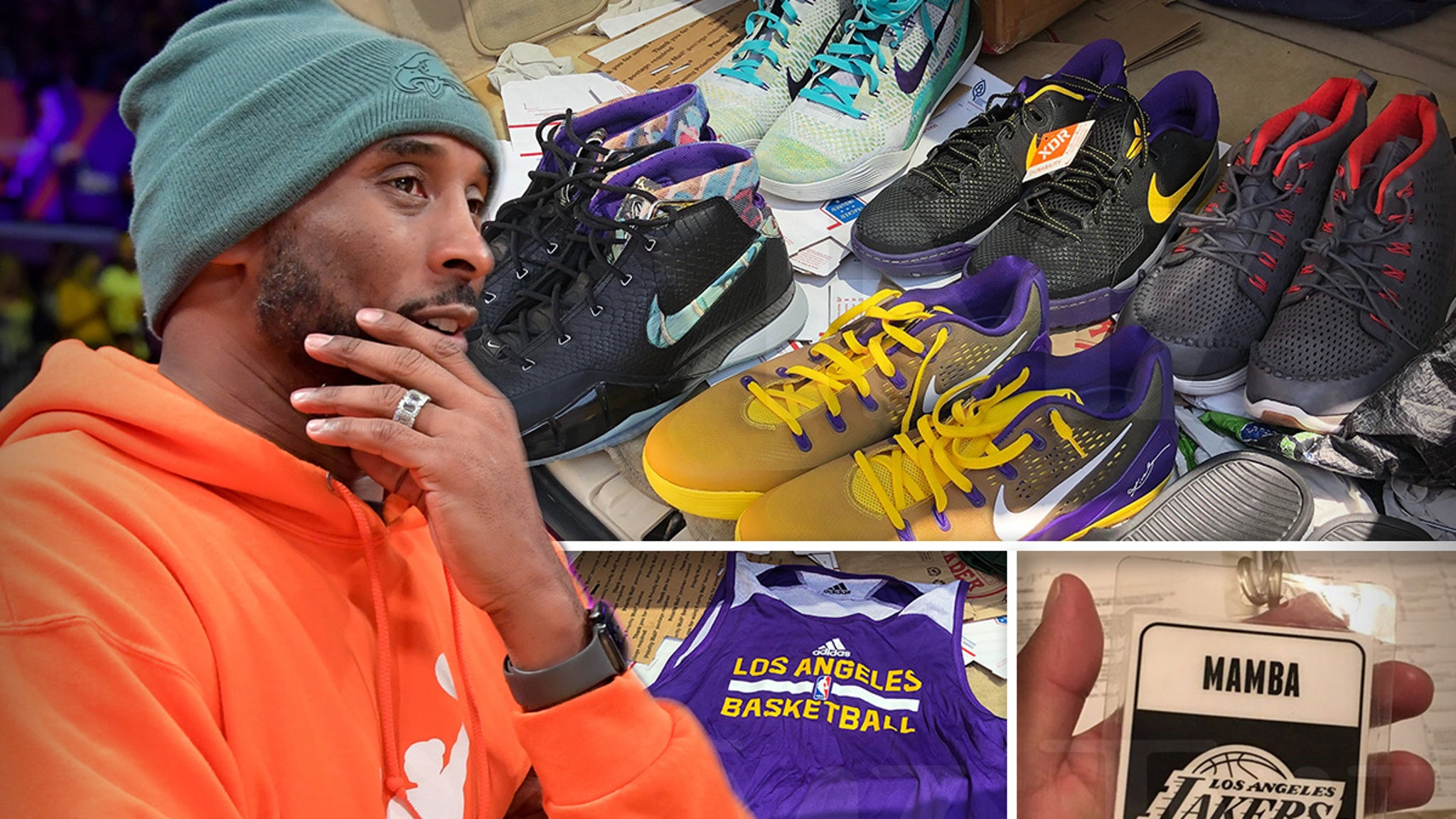 Kobe Bryant Storage Locker Treasures Returned to Vanessa, 'It's All Worked Out' thumbnail
