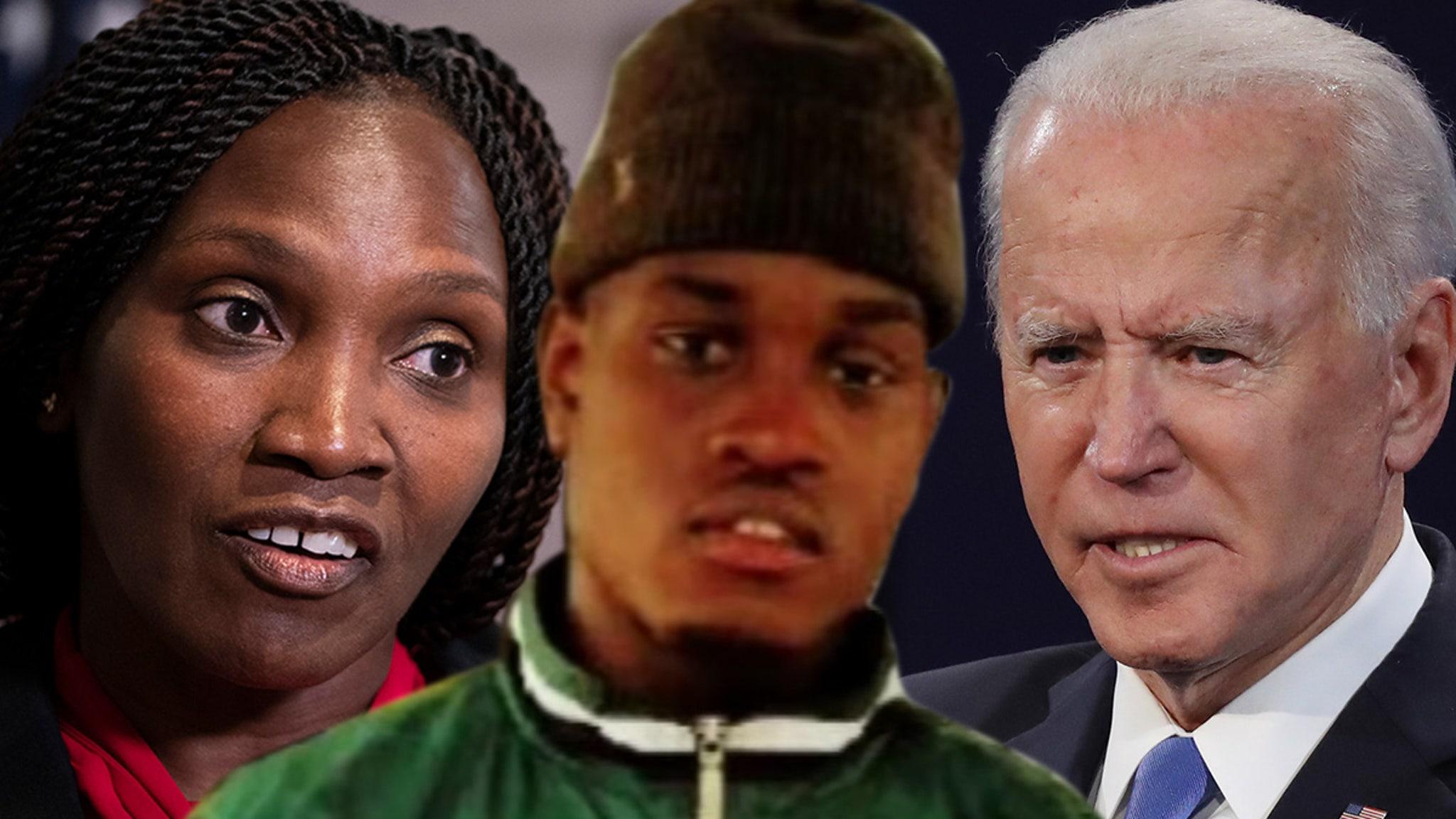 Ahmaud Arbery Mom Voting for Biden-Harris ... Near Where Son Got Killed