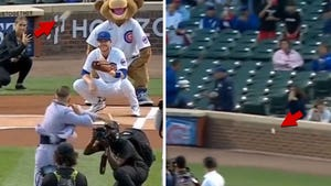 Conor McGregor Throws Hilariously Awful First Pitch At Cubs Game
