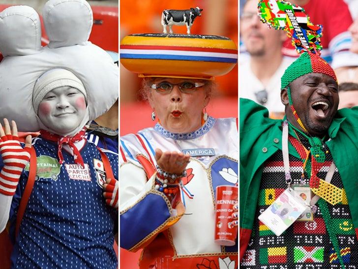 Wacky Women's World Cup Fans