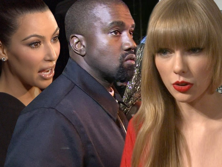 Taylor Swift's Publicist Responds To Kanye West & Kim Kardashian