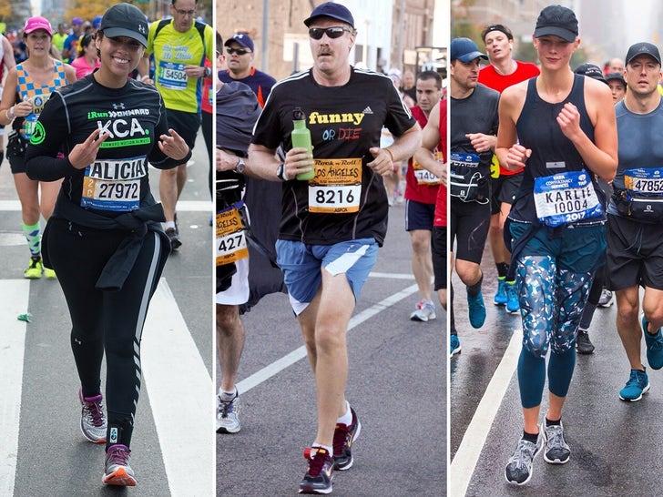 Stars Running Marathons