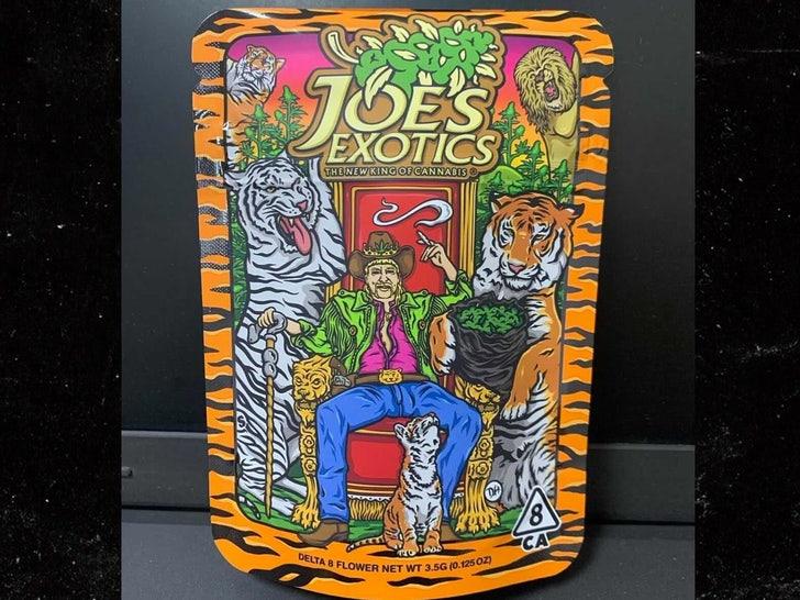 Joe Exotic's Weed Line Packaging Features Tiger Stripes, Pride Flag.jpg