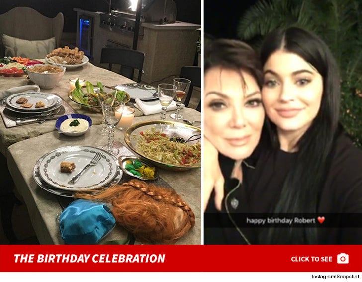 Robert Kardashian's Birthday Celebration