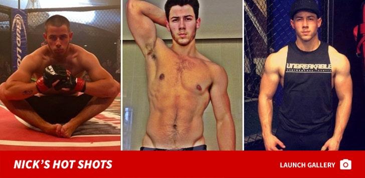 Nick Jonas' Hot Shots