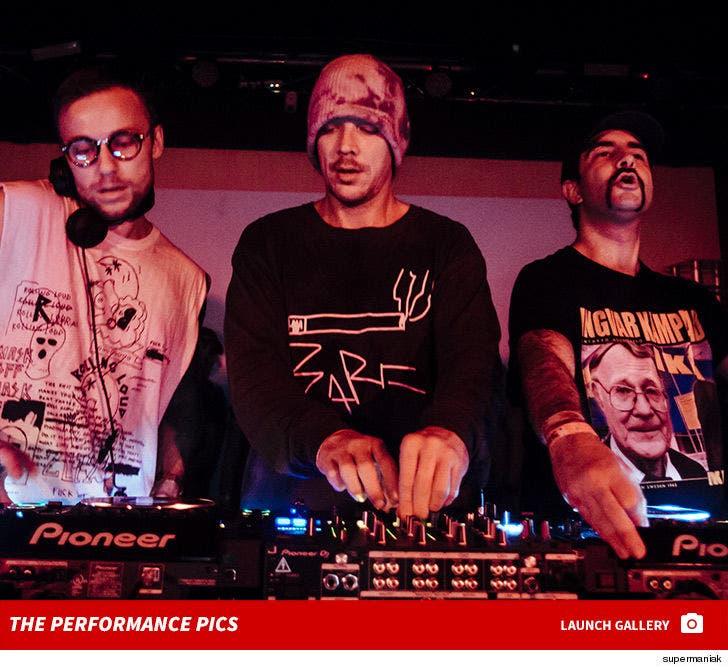 Diplo's Fundraiser Performance Photos