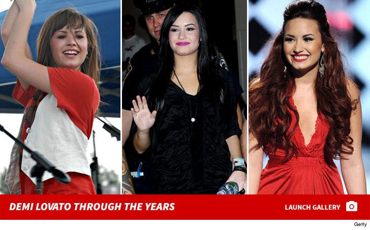 Demi Lovato Through the Years