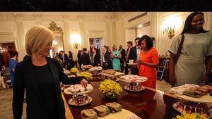 Trump Serves Fast Food to Baylor Women's Hoops Team, Coach Unimpressed?