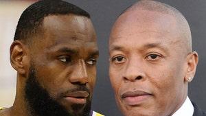 LeBron James 'Praying' for Dr. Dre, Magic Johnson Sends Love