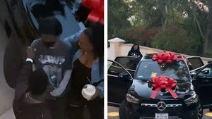 Kevin Hart Gifts His Daughter New Mercedes For Birthday