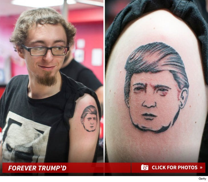 Forever Trump'd -- Free Donald Trump Tattoos