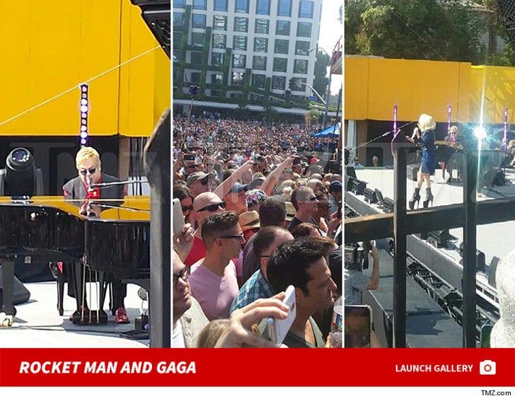 Rocket Man and Gaga