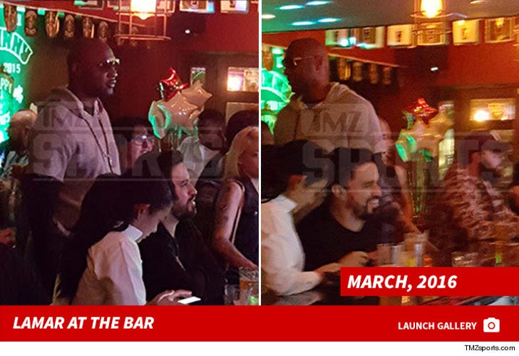 Lamar Odom -- The Pub Pictures