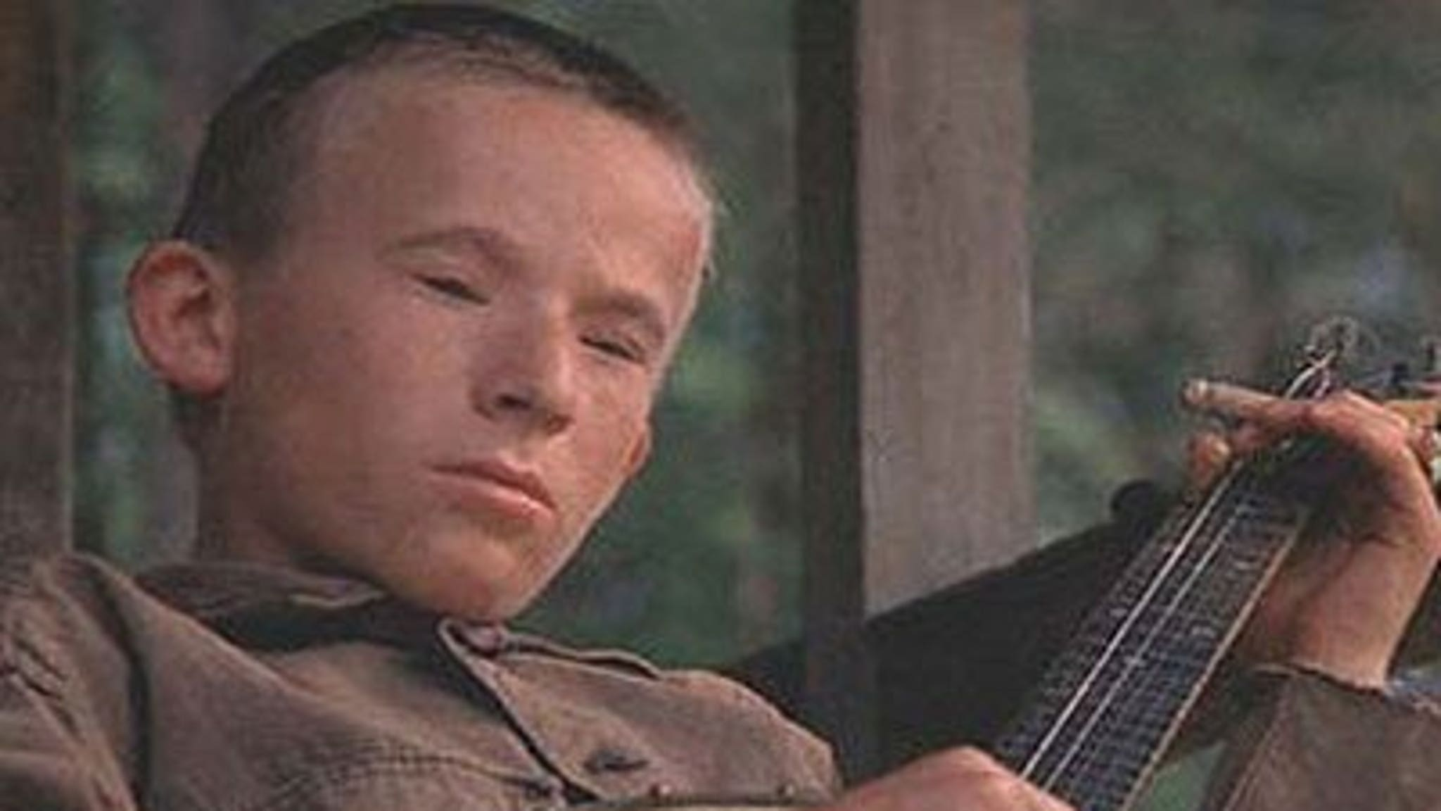 "Creepy Banjo Kid in ""Deliverance"": 'Memba Him?!"