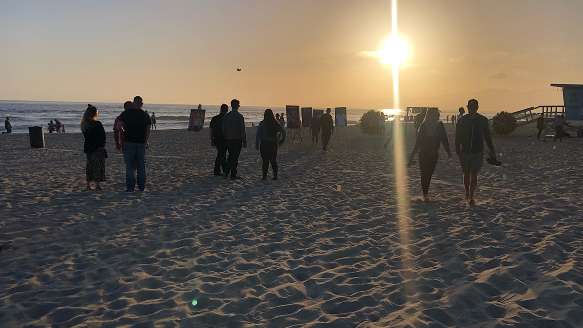 Shad Gaspard Memorial Held at Venice Beach