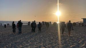 Shad Gaspard Memorial Held at Venice Beach