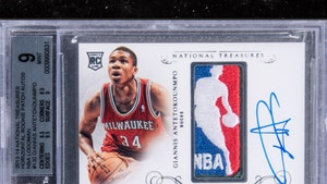 Rare Giannis Antetokounmpo Card Sells For $1.812 MILLION, Modern-Day Record!