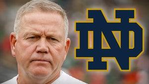ND's Brian Kelly Says Team Dinner Sparked COVID Outbreak, 'Spread Like Wildfire'