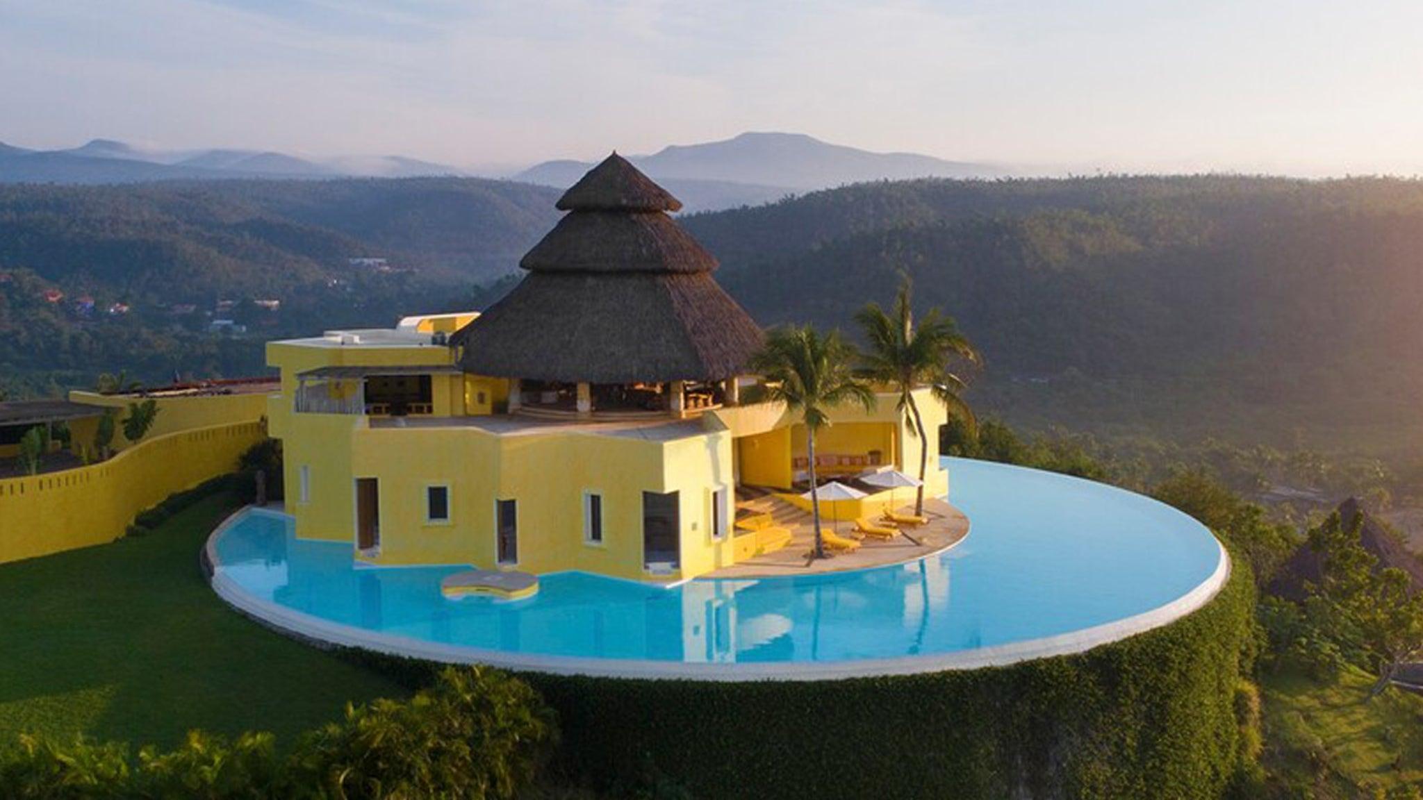Вилла Кайли и Кендалл Дженнер — мексиканский рай