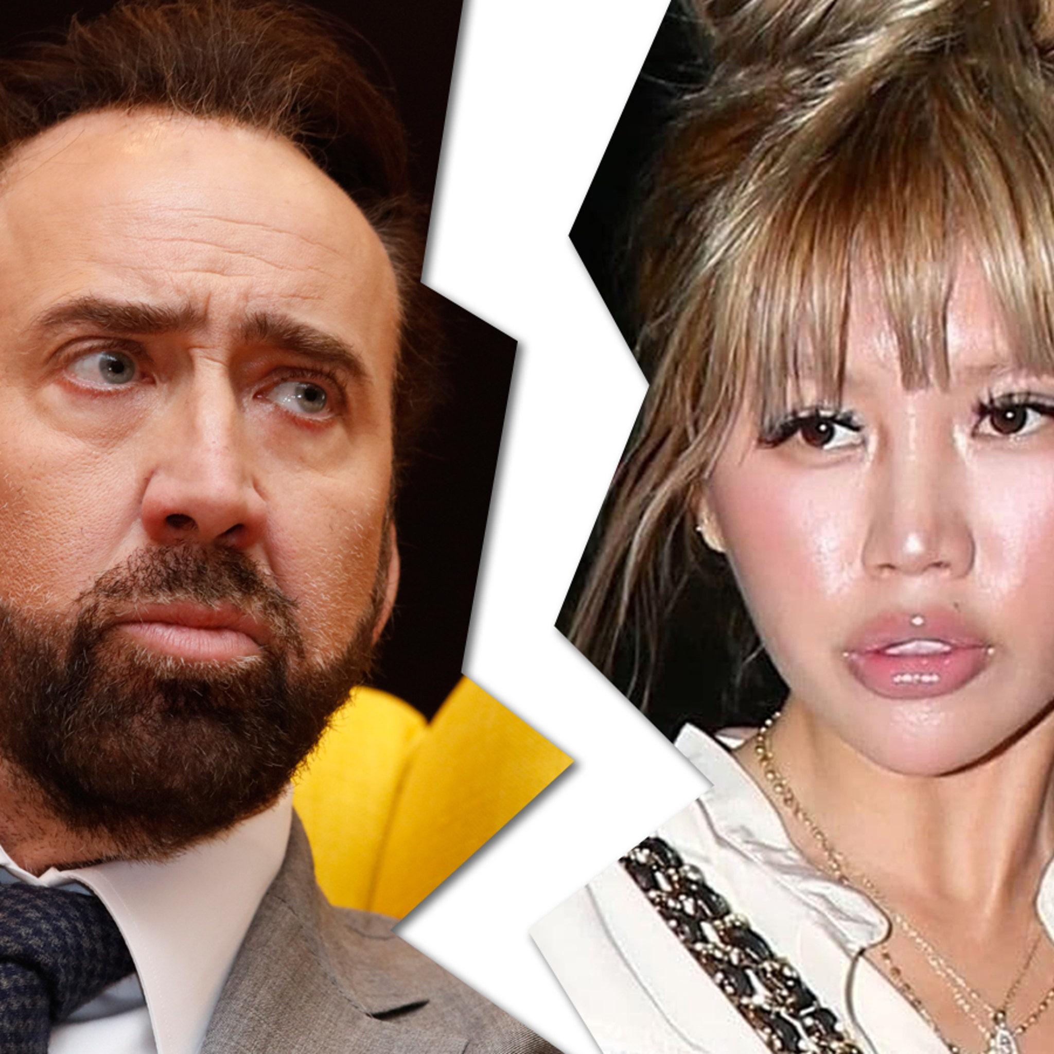 Nicolas Cage's Quickie Divorce Granted in Nevada