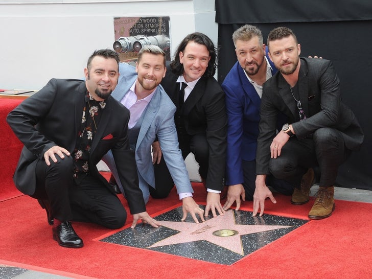Stars with Their Stars on the Hollywood Walk of Fame
