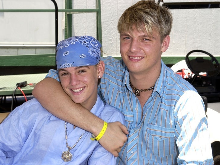 Aaron and Nick Carter Together