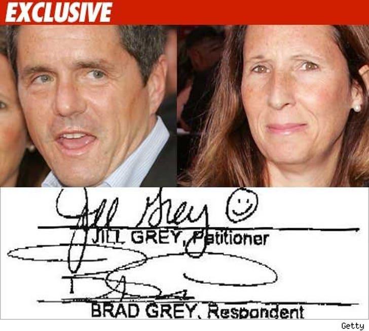 Brad Grey -- The :) Divorce Ever!
