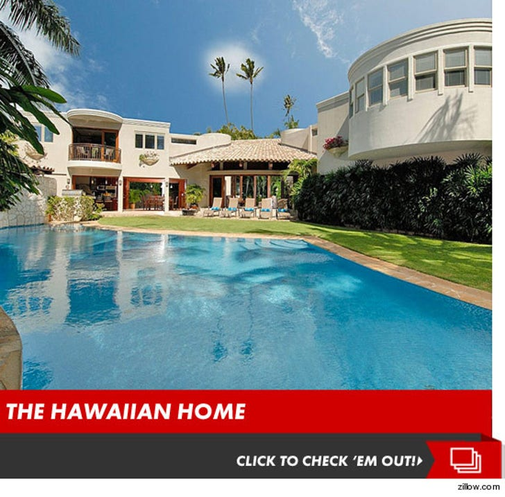 Chris Brown's Hawaiian Rental House
