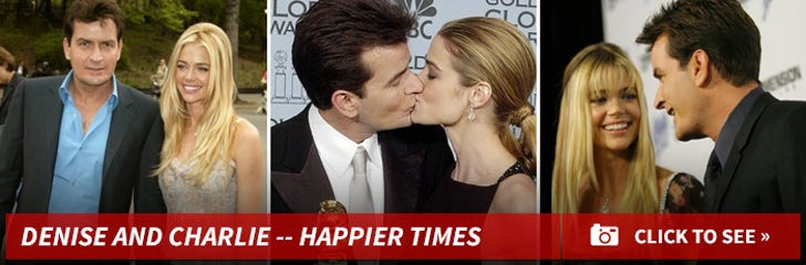 Denise Richards and Charlie Sheen -- Happier Times