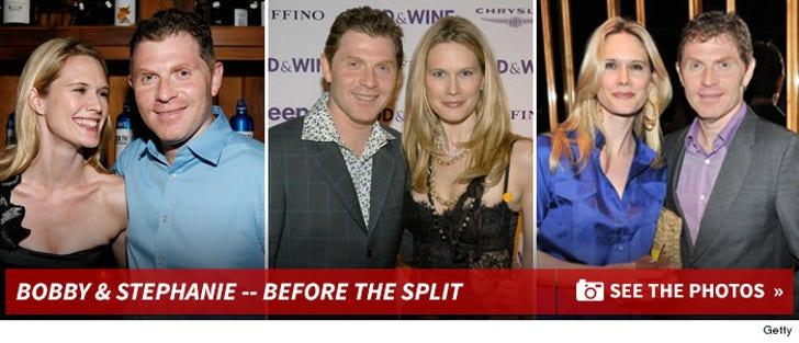 Bobby Flay & Stephanie March -- Before the Split!