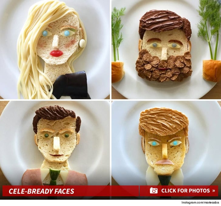 National Bread Day! -- Celebrity Faces