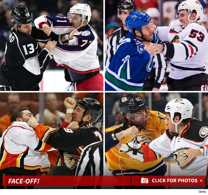 Face-Off! -- NHL's Best Season Brawls