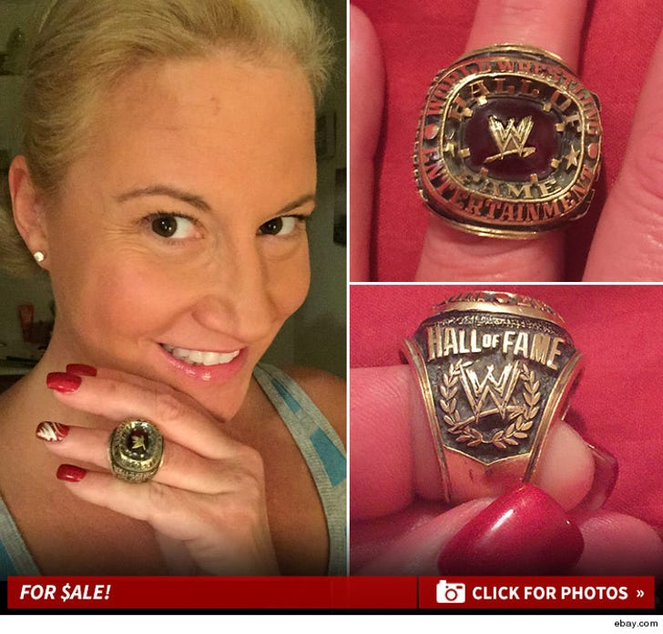 Sunny's WWE Hall of Fame Ring -- For $ALE!