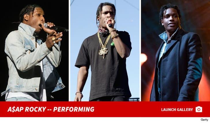 A$AP Rocky -- Performance Photos